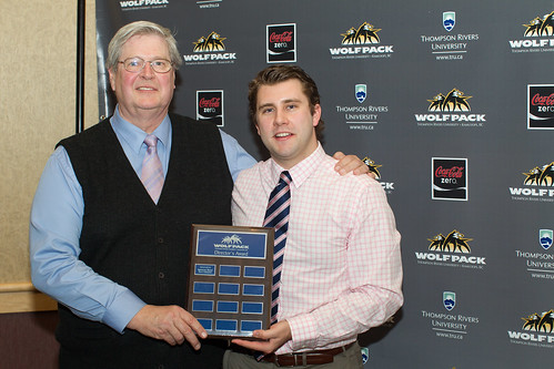 Spencer Reed and Ken Olynyk (Directors Award 2013-14 Andrew Snucins)