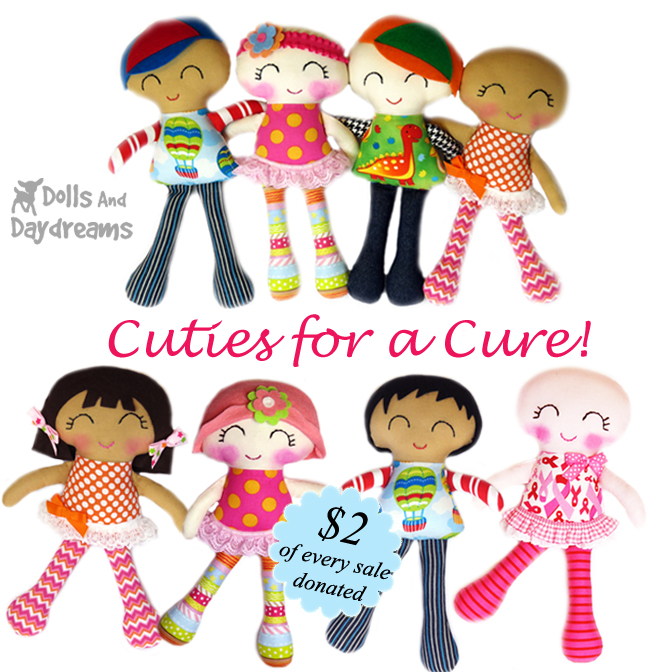 Cuties for a Cure Sewing Pattern