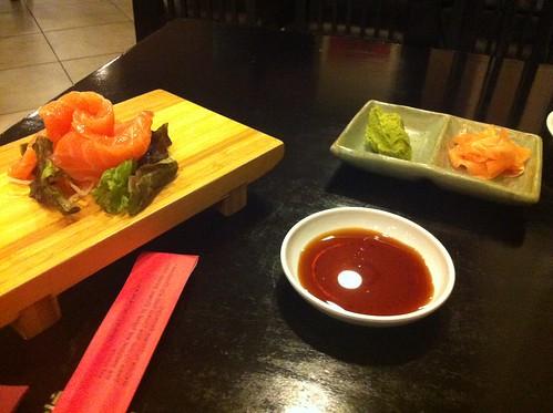 Alicante | Ming Cocina Asiática | Sashimi de salmon