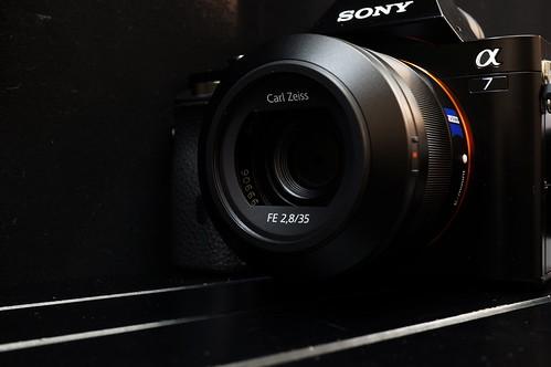 FE 35mmF2.8 ZA + α7