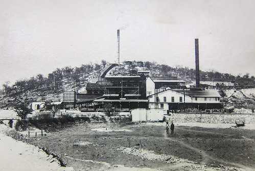 The old smelter in 1910, Tsumeb