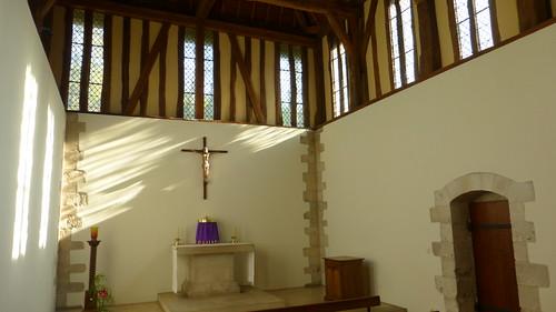 239 La nouvelle église, Abbaye de Saint-Wandrille