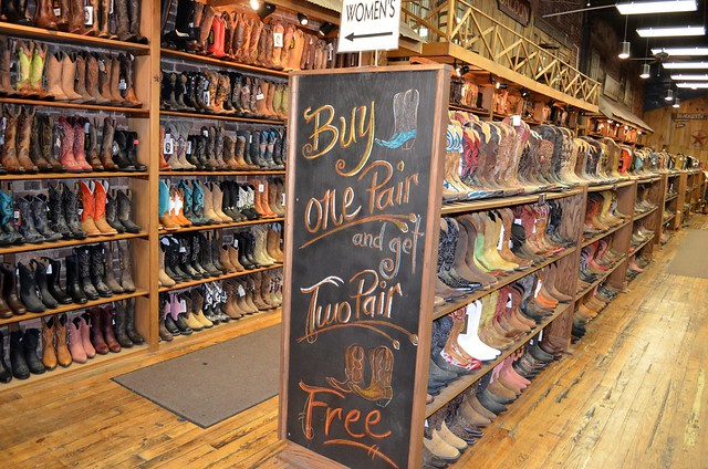 Boots in Nashville