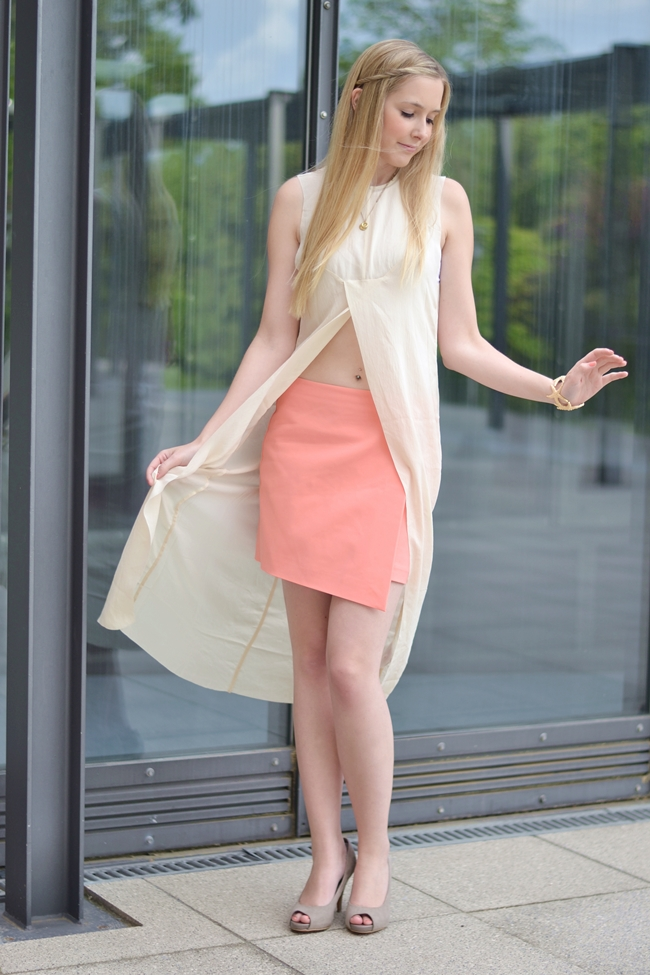 Outfit C&C Coral and Crop Top (8)