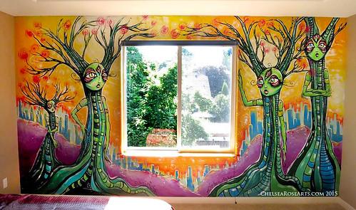 trippy bedroom murals www imgarcade com online image