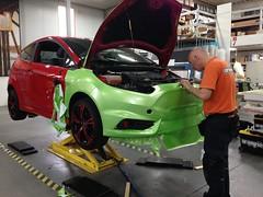 Carwrap Ford Fiesta ST