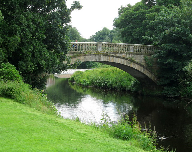 Pollok House bridge