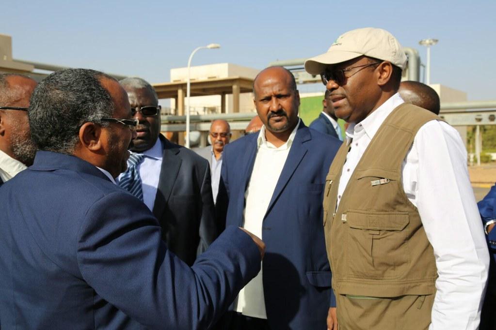 Visite officielle du Président ADESINA au Soudan du 26 février au 01 mars 2017