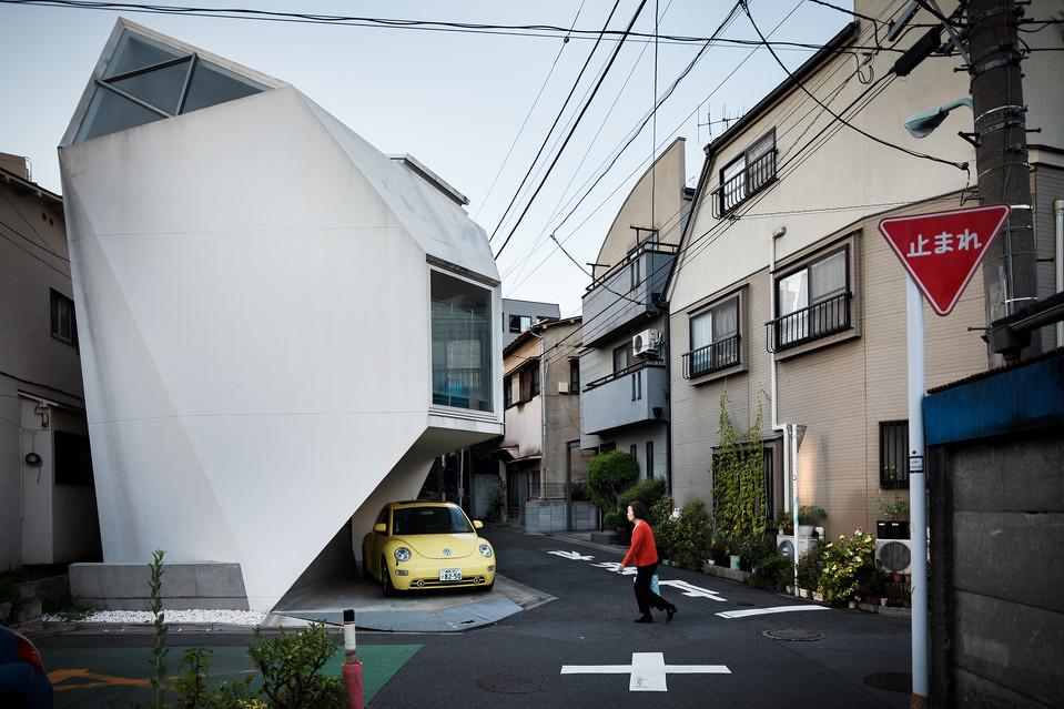 住宅密度大於高度,東京建築「怪宅」林立2
