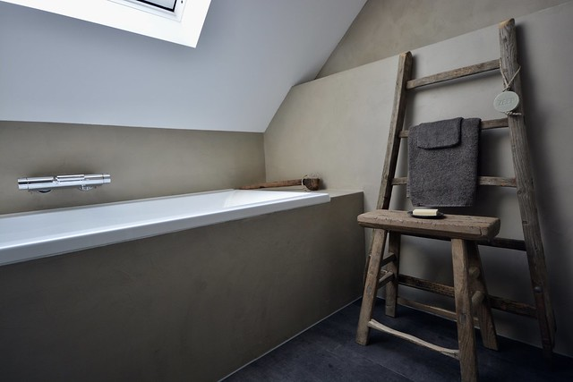 Beton-ciré badkamer