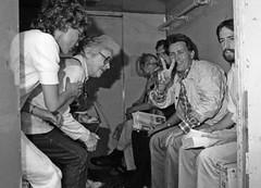 Martin Sheen and Dan Berrigan under arrest 1986