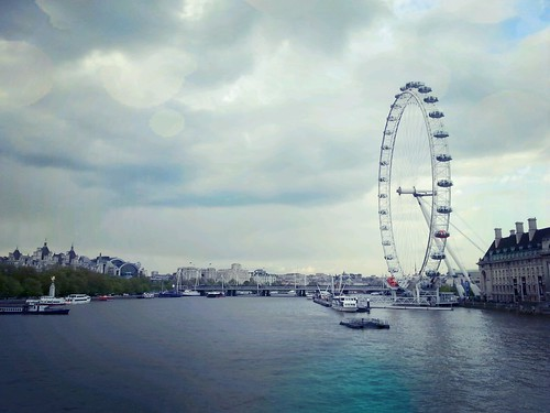 London Eye on the Thames