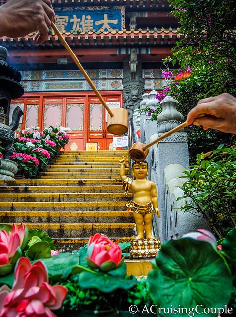 Bathing Buddha Lantau Island