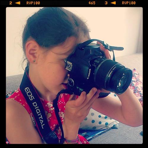 bloggende dochter