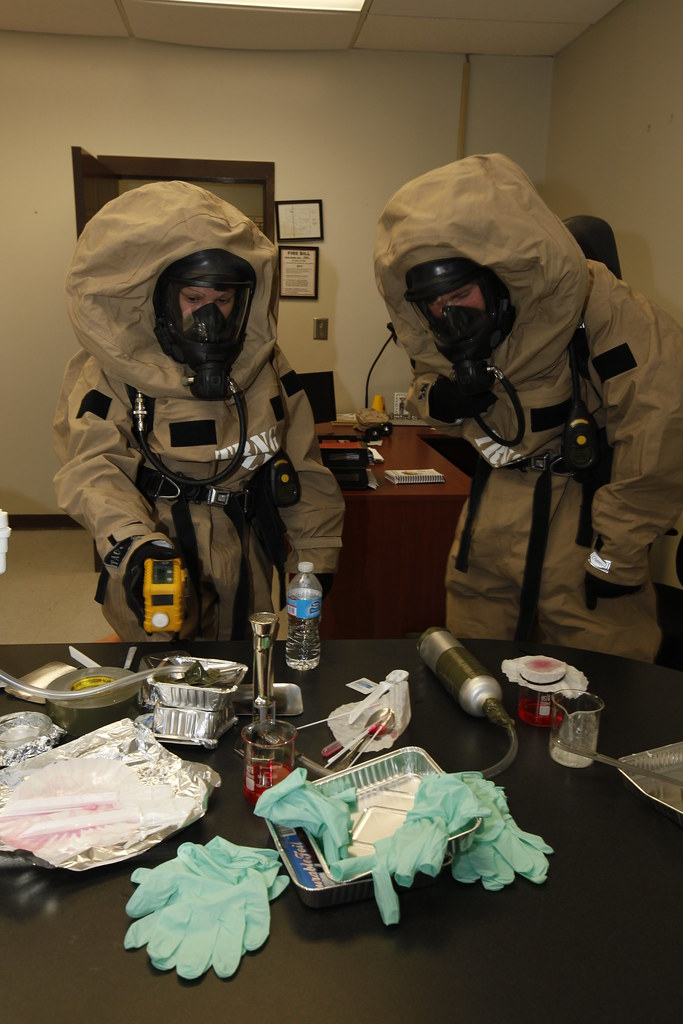 CBRN Marines respond to chemical warfare threat | Chemical