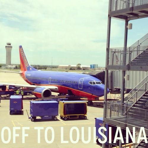 Off to Louisiana