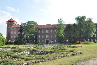 Image of Wawel Castle near Kraków.