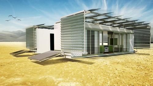 DALE – микродом на рельсах с солнечными батареями