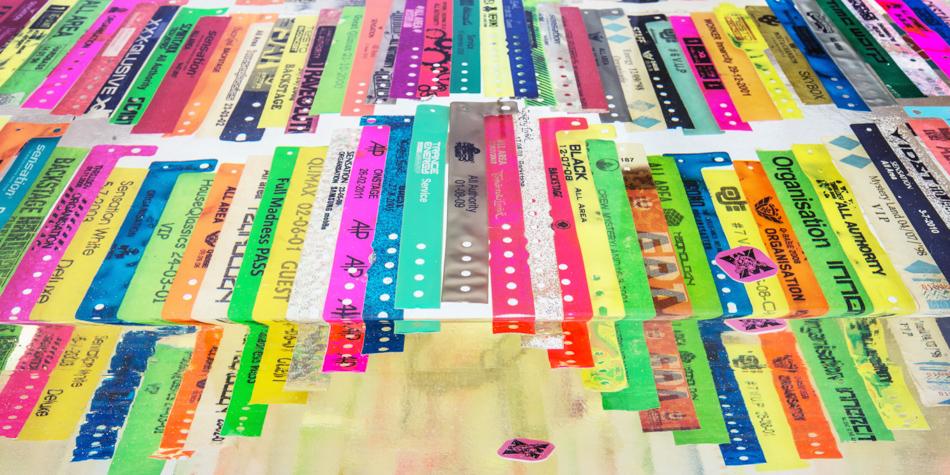 Festival bracelets