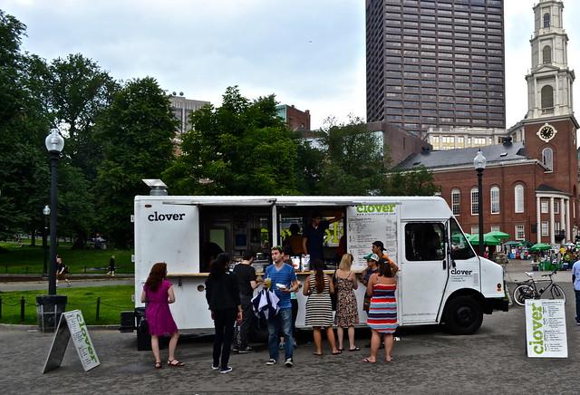clover food lab food truck