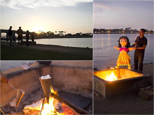 San Diego Bonfire