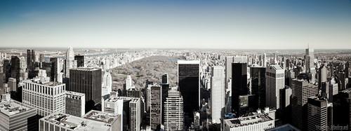 New York City skyline, Central Park view (NYC, USA)