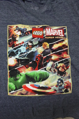 LEGO Marvel Super Heroes Video Game T-Shirt