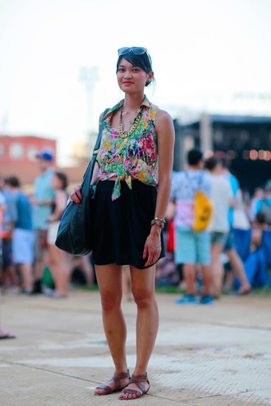 rita_p4k Chicago, Pitchfork Music Festival, Quick Shots, street fashion, street style, Union Park, women