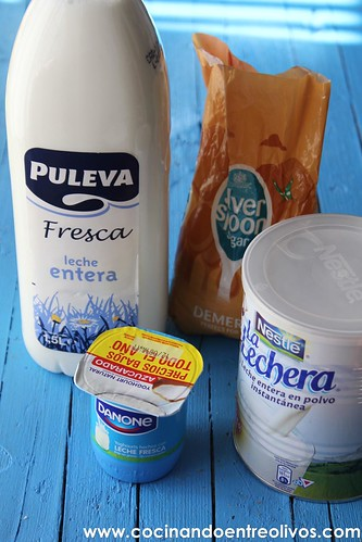 Yogur natural azucarado Yogurtera Lidl www.cocinandoentreolivos (3)