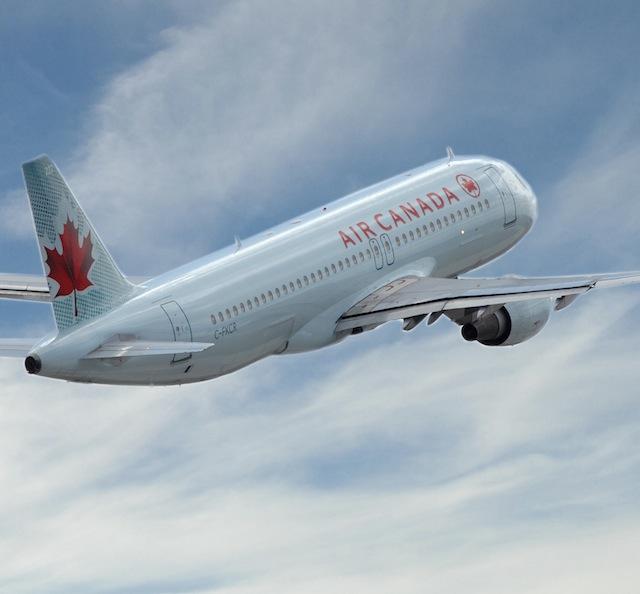 Air Canada A320 (Vail Resorts)