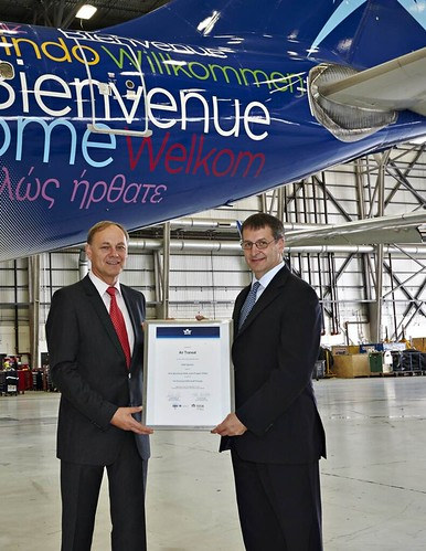 Air Transat first airline registered under Enhanced IOSA