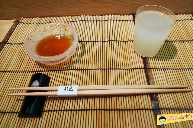 Sushi Sho - Tokyo - Sparkling Nigori