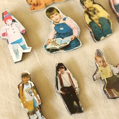 Childhood Photo Pins