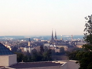 view to Luxembourg