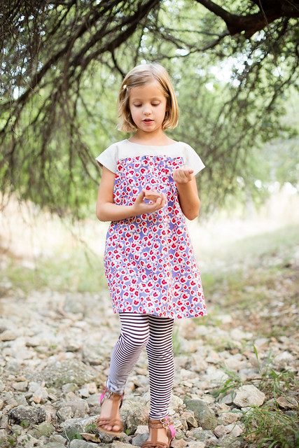 ice cream dress + sunki leggings