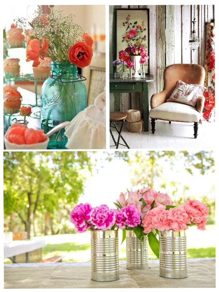 Decoración Flores Casa