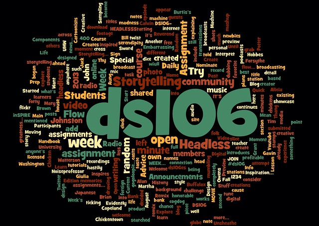 Ds106 word cloud