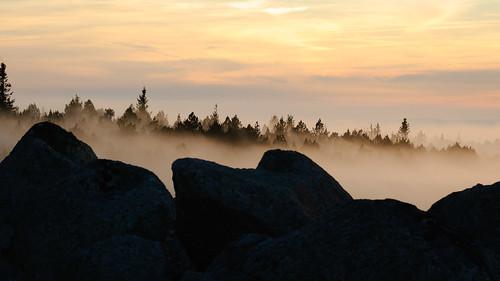 france weather fog landscape paysage 169 brouillard sunsetsunrise météo languedocroussillon lozère levercoucherdesoleil