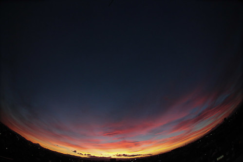 Fish Eye Magichour - After Typhoon at Saitama