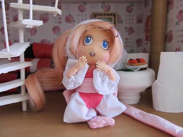 Hana se convierte en Sumomo (Chobits)