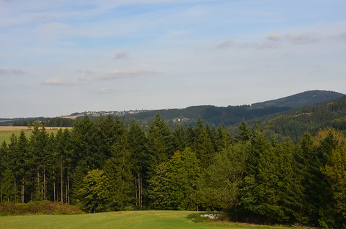 Panoramabild vom Frankenwald