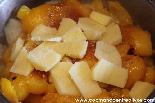 Crema de pimientos amarillos www.cocinandoentreolivos (14)