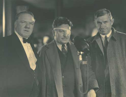 Image of W.C. Fields, Wiley Post, Will Rogers