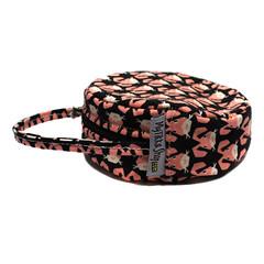 Mini-sac rond range-câble tissu lapins kawaii