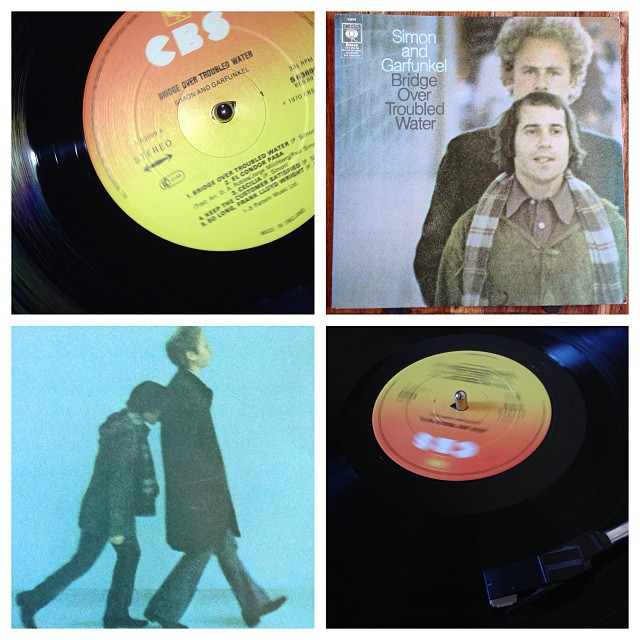 "031113_ #np ""bridge over trouble water"" by Simon & Garfunkel #vinyl"