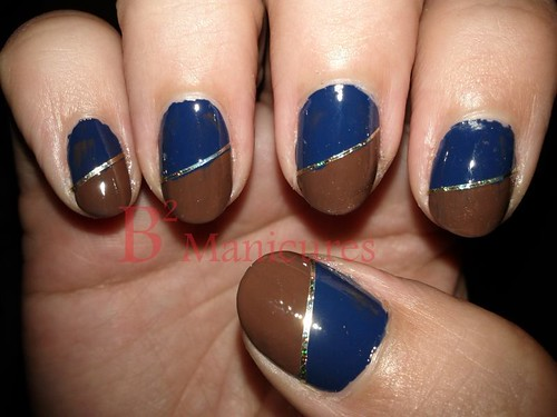 104 Navy Brown