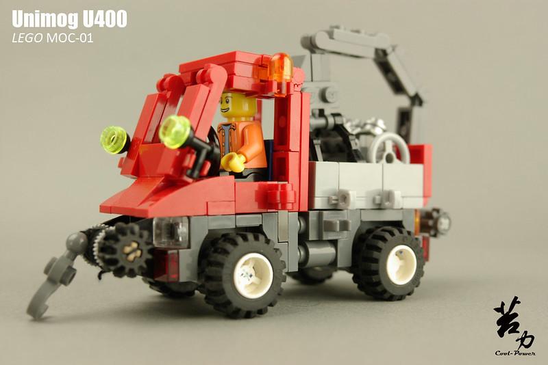 Lego Unimog U400-0009