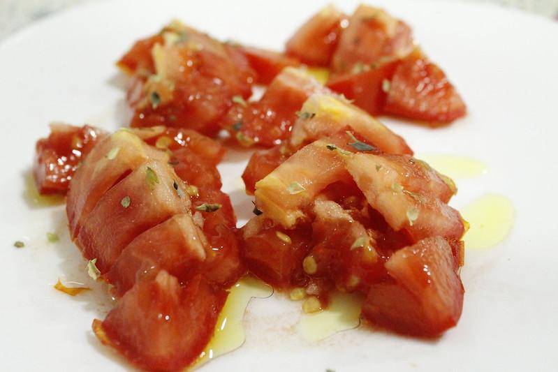 tomates en aceite