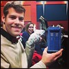 TARDIS, jelly babies, and a fantastic photobomb. Great start to #doctorwho50th at the odeon! #savetheday