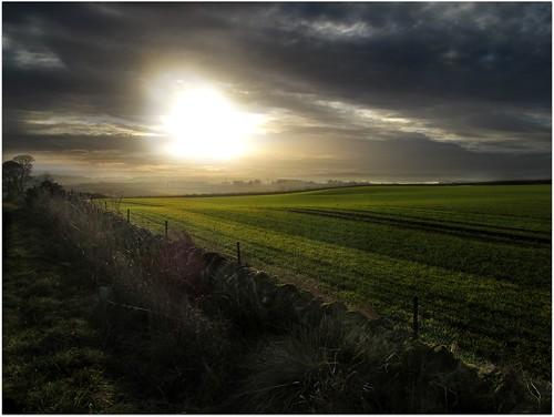 sunset landscape cycling scotland dundee angus farmland hills carrot canong12 ericrobbniven